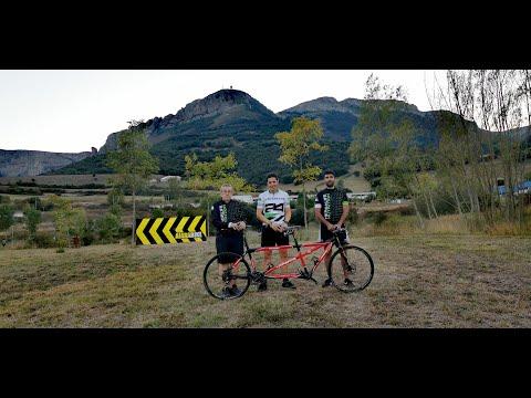 Reto solidario: recorrer en cuatro días 661 km del Camino de Santiago en tándem ciclista