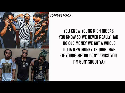 Migos - Bad and Boujee Ft. Lil Uzi Vert (Lyrics)