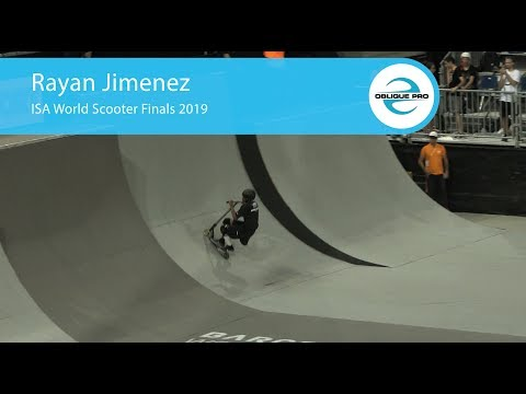 Rayan Jimenez - ISA Men's World Scooter Semi Finals 2019