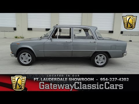 1972 Alfa Romeo Giulia Super 1600 for Sale - CC-989461