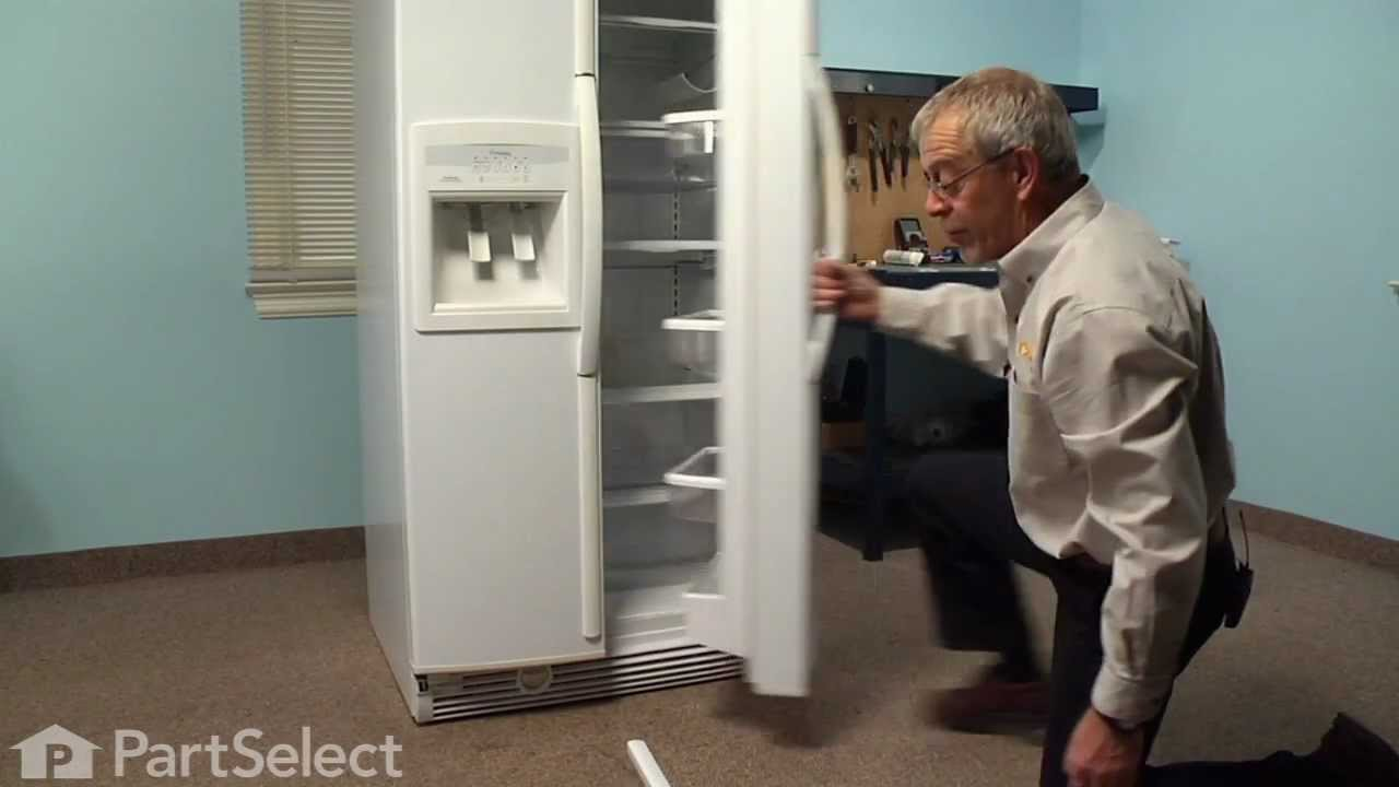 Replacing your Whirlpool Refrigerator Refrigerator Crisper Drawer With Handle