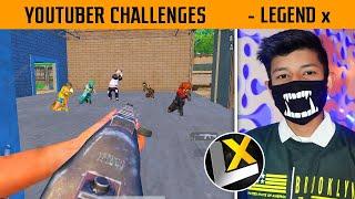 😤 Legend x Challenge to Bandookbaaz - Gamexpro - Gguruji in this Match   Gamexpro