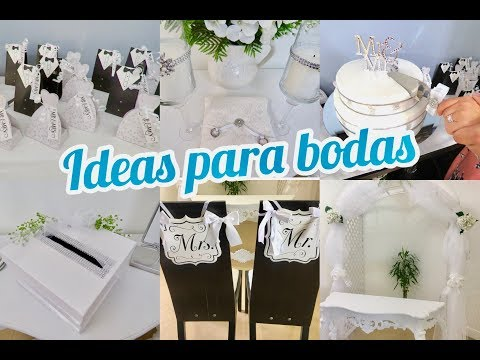IDEAS PARA  BODA || 9 IDEAS FACILES || MI HIJO MAYOR SE CASO