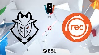 Six Invitational 2019 – Playoffs - Day Five - G2 Esports vs. Team Reciprocity