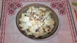 Галушки  / Галушки українські з салом/ Украинская кухня/ Мучные блюда/ Вторые блюда.