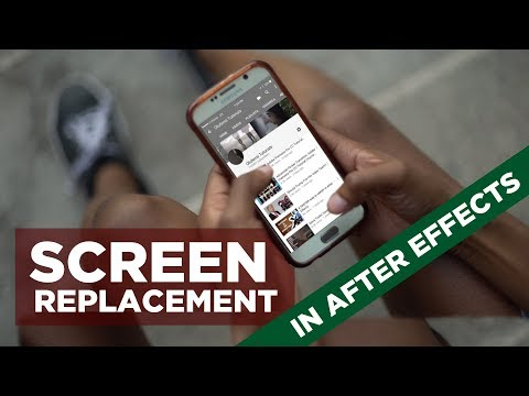 VFX Screen Replacement – Quick After Effects Tutorial