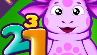 Лунтик учит цифры. Развивающие игры для детей. Полная версия