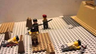preview picture of video 'lego ww2 gold beach'