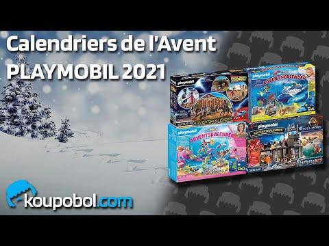 """Vidéo PLAYMOBIL Christmas 70778 : Calendrier de l'Avent Novelmore """"Atelier de Dario"""""""
