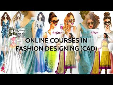 Online Fashion Designing Course CAD  - How do we teach   FREE DEMO CLASS 1