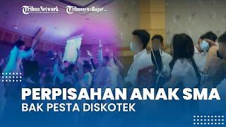 Viral Video Acara Perpisahan Siswa SMA Bak Pesta Diskotek, Berpakaian Seksi hingga Panitia Diangkut