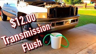 How to do a Transmission Flush at Home for $12