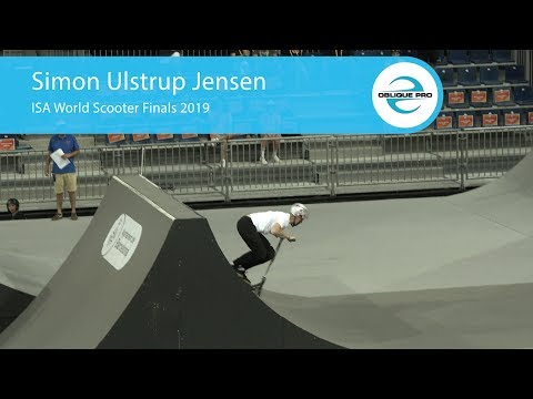 Simon Ulstrup Jensen - ISA Men's World Scooter Semi Finals 2019