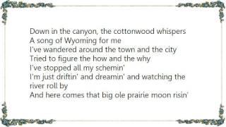 Chris LeDoux - Song of Wyoming Lyrics