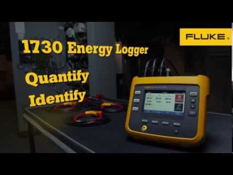 Start tracking your energy and stop wasting your money with the Fluke 1730 Energy Logger