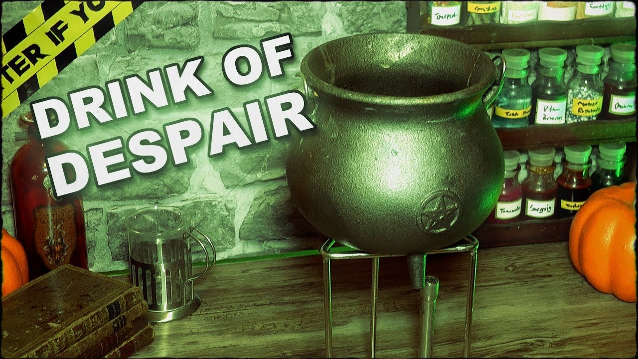 How To Make A Drink Of Despair Potion