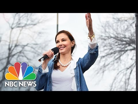Ashley Judd's Fiery 'Nasty Woman' Speech Takes Aim at Sexism, Racism   NBC News