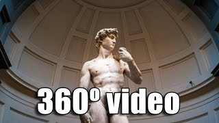 360 VR Tour - Alone with Michelangelo's David in the Accademia in Florence (Oculus)