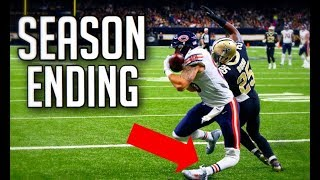 NFL Injuries While Scoring a Touchdown    HD