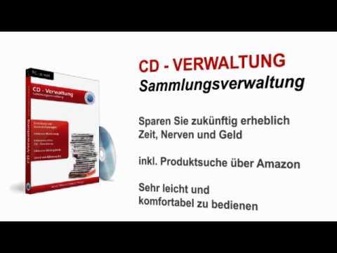 CD und Schallplatten Verwaltung Software für CD Sammler und Sammlung Programm für Windows.