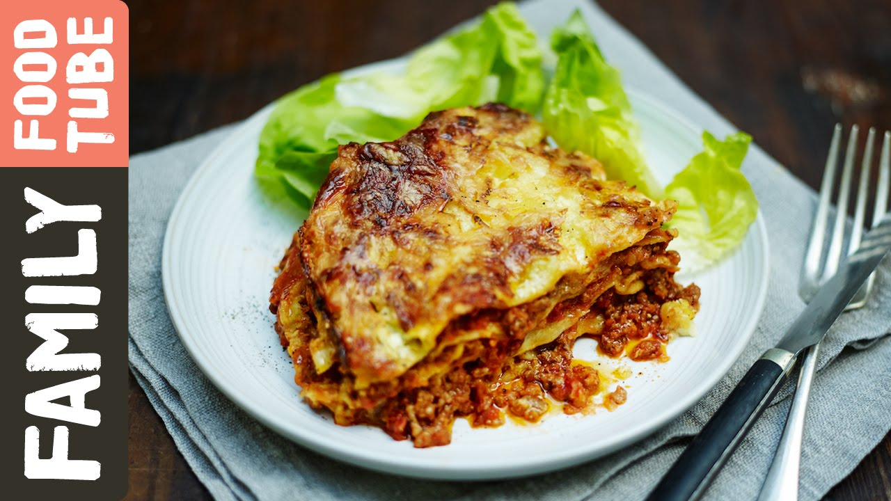 Easy Family Lasagne