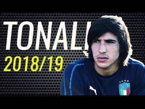 Sandro Tonali • 2018/19 • Brescia • Magic Skills, Passes & Goals • HD