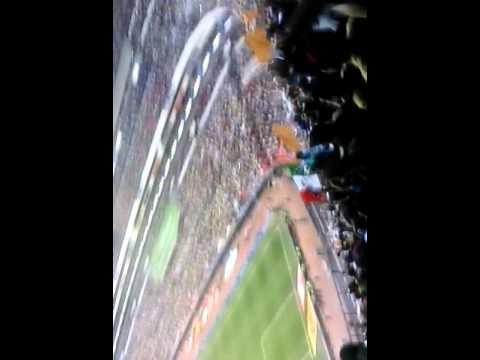 """""""Goyazo Rebel Pumas vs América Noviembre 2015"""" Barra: La Rebel • Club: Pumas"""
