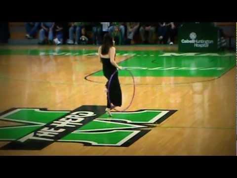 Nov.19, 2011-NCAA-MU Basketball Game-Half Time Show-Rhythmic Gymnastics-Bella Xu.MPG