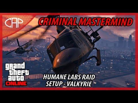 GTA Online Heist #3 - The Humane Labs Raid - Valkyrie (Criminal