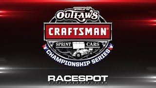 World of Outlaws Craftsman Sprint Cars Championship Series | Round 10 | Williams Grove