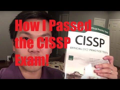 How I Passed the CISSP Exam! (My 12 week method) - YouTube