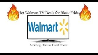 Hot Walmart TV Deals for Black Friday 2016!
