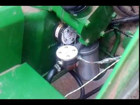 Tractor Fuel Consumption Meter