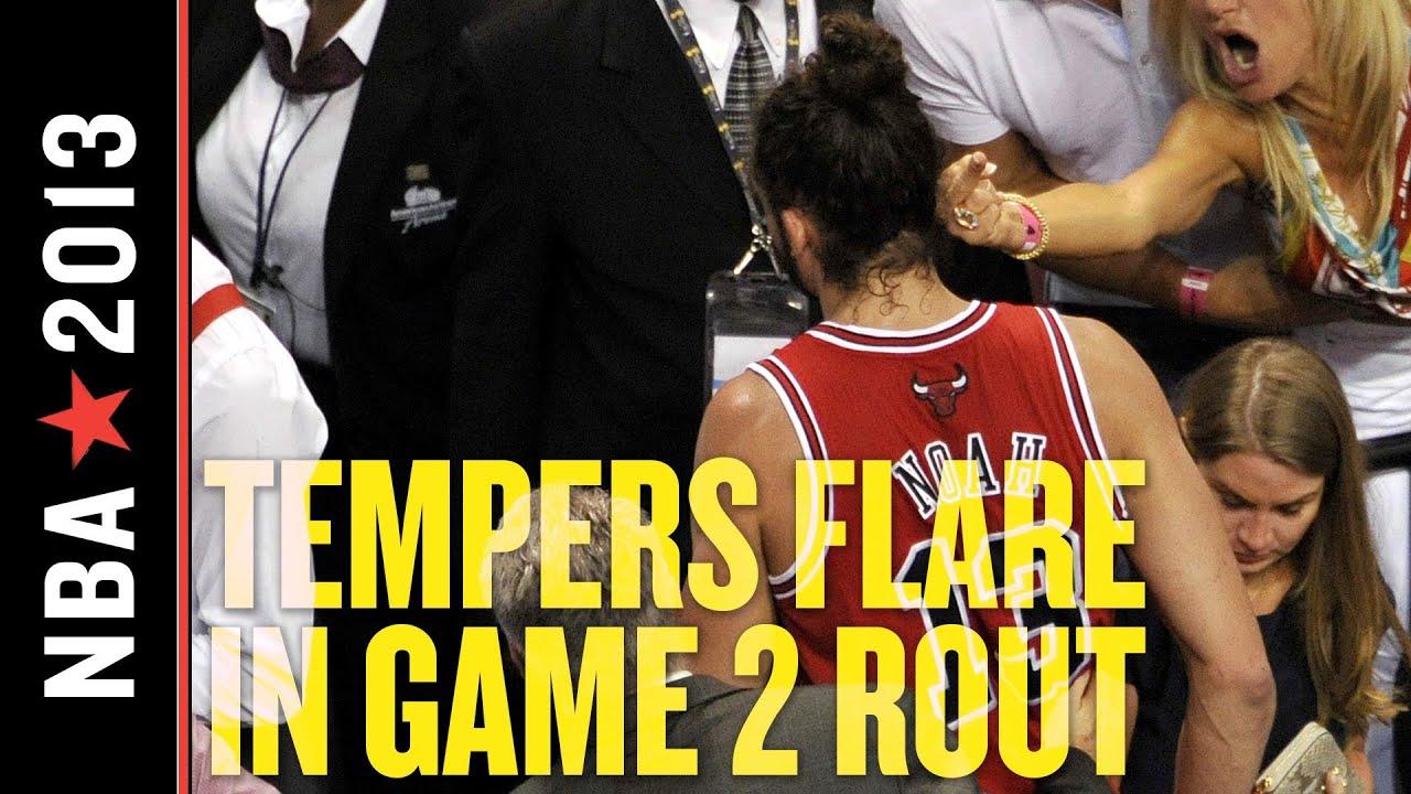 NBA Playoffs 2013: Miami Returns to Form, Smacks Around Bulls to Even Series thumbnail