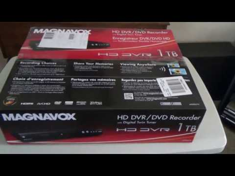 Magnavox HD DVR / DVD Recorder with digital twin tuner review, model # MDR867H