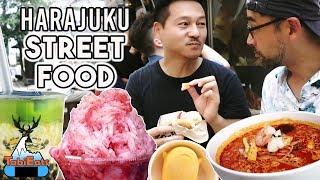 Amazing Street Food in Tokyo HARAJUKU