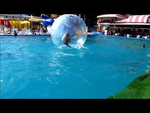 Water Walking Game - Zorb Ball
