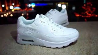 Nike Air Max 90 Ultra Essential White White-Metallic Silver