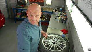 Jak samodzielnie odrestaurować aluminiowe felgi? #101_Napraw