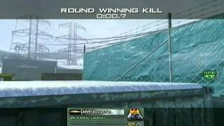 MW2: Stun Grenade Impact Game Winning Kill