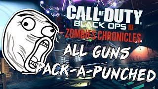 """Black Ops 3: """"All Guns Pack-A-Punched"""" - ZOMBIE CHRONICLES *LIVESTREAM* w/ Syndicate!"""