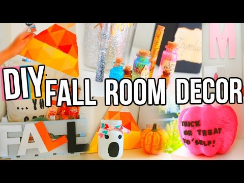 10 Amazing Fall DIY Room Decor Projects You Need To Try! + Organization!