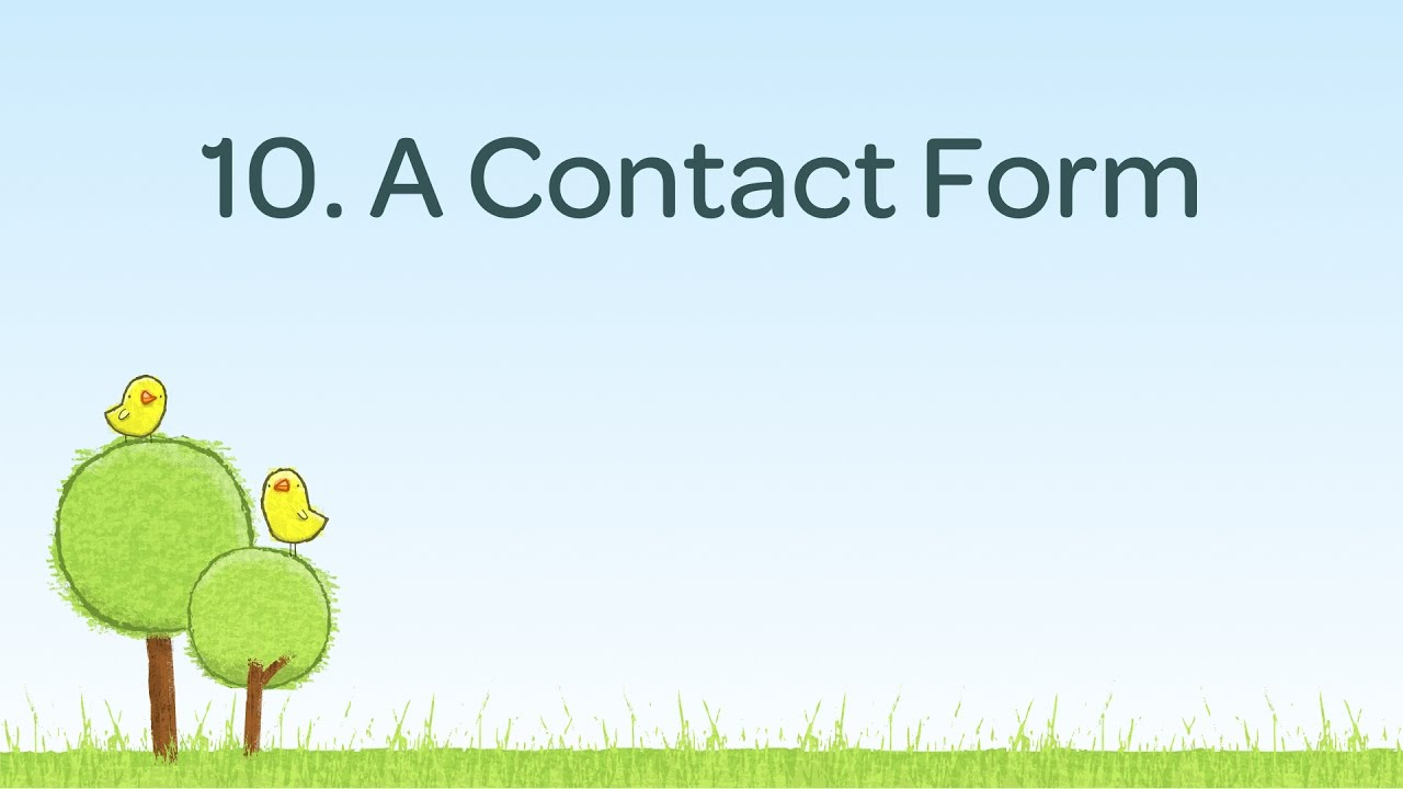 A Contact Form