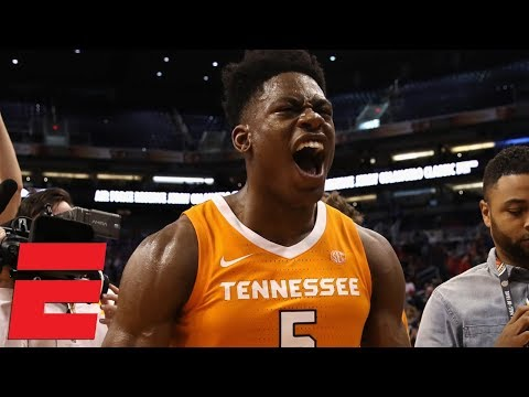 Tennessee upsets No. 1 Gonzaga | College Basketball Highlights