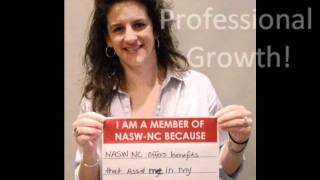I am a member of NASW-NC because...