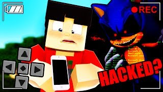 Minecraft SONIC - Hacked by SONIC.EXE in Pocket Edition!