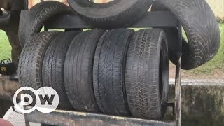 Making fuel from tires in Egypt | DW English