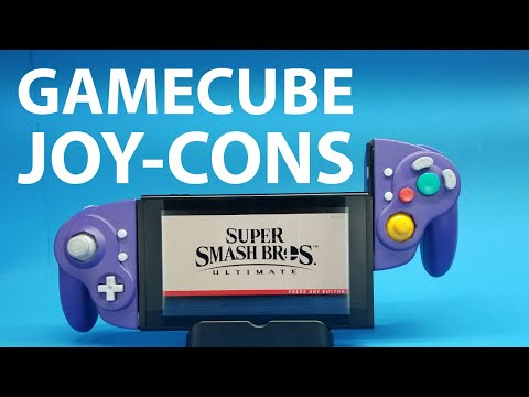 This GameCube Controller Turned Into Joy-Cons