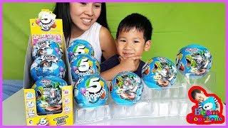 น้องบีม   รีวิวของเล่น EP96   ลูกบอล 5 เซอร์ไพรส์ Toys