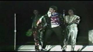 "The Jacksons Victory Tour final!! ""Shake your Body"" (rare) HQ"